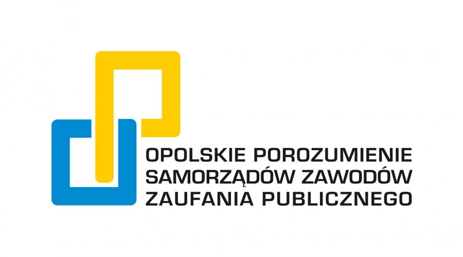 Logo Opolskiego Porozumienia Samorządów Zawodów Zaufania Publicznego